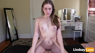 Hardcore Riding & Deep Creampie with LindseyLove Big big