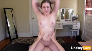 Hardcore Riding & Deep Creampie with LindseyLove porno