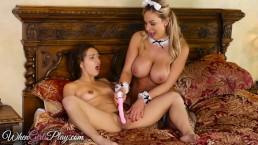 When Girls play - Milf maid sissors sexy teen