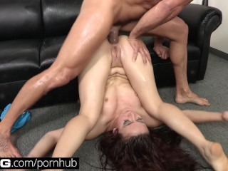 Door ebony fucking next older woman