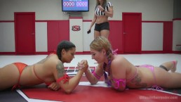 Orgasm on the Mat