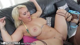 LexingtonSteele Kayy Takes that Huge Black Cock