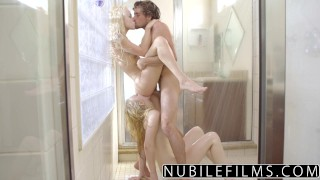 Rader in nibilefilms elsa shower share cock lily jean tiny tits