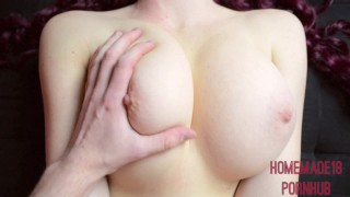 Ass cock on tits my cum old bouncing massive your and year covered i'm sex hot