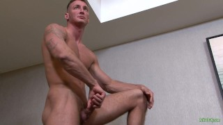 ActiveDuty Str8 Army Hunk Craig Plays with His Cock Asshole hunks