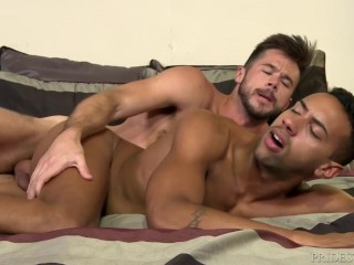 ExtraBigDicks Mike DeMarko Tops Ebony Hunk