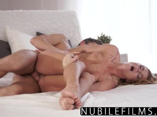 NubileFilms – Beautiful Sex Makes Young Redhead Cum