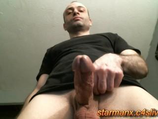 Starman X - Stroking big cock 02