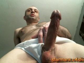 Starman X - Stroking big cock 03