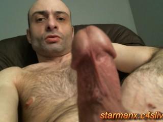 Starman X - Stroking big cock 04