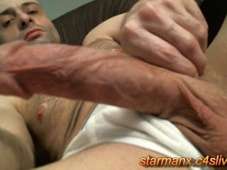 Starman X - Stroking big cock 05