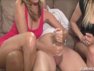 Cock jerking lesson
