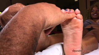 With rivera make my me cum nina watch daddy feet sexy footjob