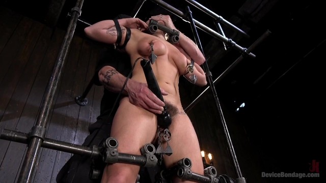 Extreme bdsm device Big tit squirter bdsm