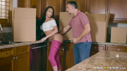 Brazzers -Raven Baygets her neighbors to cheat