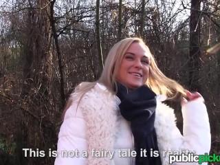 Mofos - Euro Babe Rides Dick Outdoors