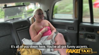 fake taxi blonde shows her sleep