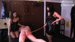 Spanking Fun With Madam Caramelle And Lady G