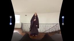 Blonde Teen SIster Nun Fucks Priest POV on BaDoinkVR.com