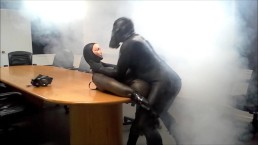 orca frogman humps dummy frogman watching porn in boardroom