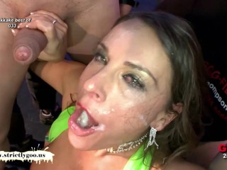 Big Natural Tits Cum Covered for babe MILF Susi - German Goo Girls
