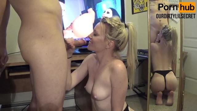 Latina Blowjob White Cock