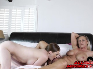 ALLISON GETS INTO SOME HOT LESBIAN ACTION WITH HER HOT FRIEND