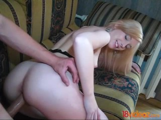 18videoz - Blue-eyed slut loves cock