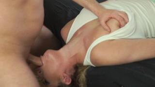 Nasty Babe make extreme sloppy salivating pov deepthroat swallow huge load