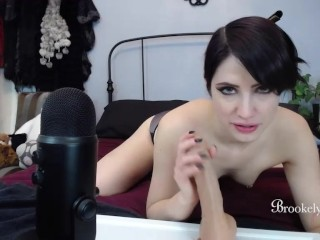 Brookelynne Briar Blowjob Jerk Off Instructions And Oral Creampie