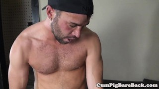 Unsaddled bj by bear after dilf bbc pounded cumshot interacial
