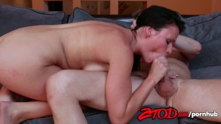 And gets facialized ames ashli fucked raven open