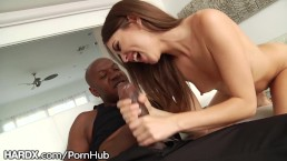 HardX Riley Reid takes on Mandingos Massive Cock