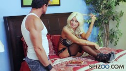 Spizoo - Brittany Andrews fucked the Hell out of Tommy Gunn.