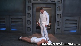 Officer disciplined ragingstallion hot daddy sailor by rimming navy