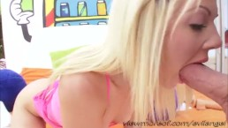 Sexy blonde Holly hanna takes bwc