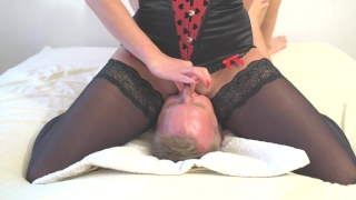 amazing squirt on mouth face riding