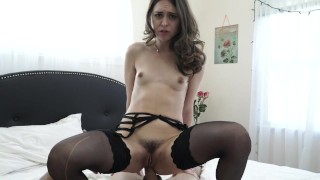 Riley Reid getting fucked by big white cock