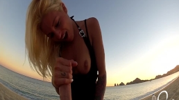 Public Beach Sex! Johnny Sins and Kissa Sins