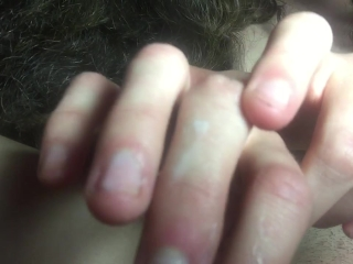 3 Fingers In Wet Pussy