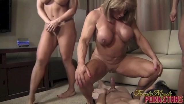horny female body builder lesbian fuck