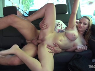 Takevan - Extreme big tits offered to play from free-hug girl