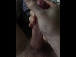 Juicy White Cock Cums In Your Face