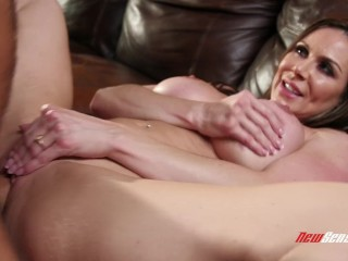Kendra Lust smothers Her Step Son With Her Huge Tits