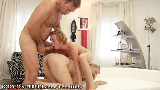 Sexy girl with butt plug
