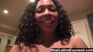RealLatinaExposed Tight latina Anita pussy drilled