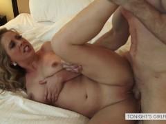 Hot rough sex with escort in lingerie Cherie DeVille - Tonight's Girlfriend