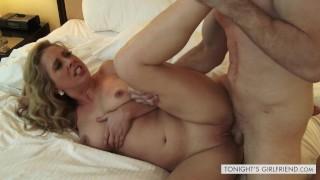 Hot rough sex with escort in lingerie Cherie DeVille Tonight's Girlfriend
