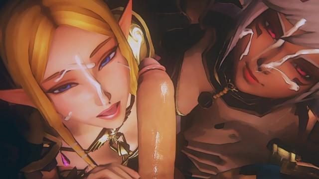 Zelda hentai flash games The royal treatment - zelda studio fow