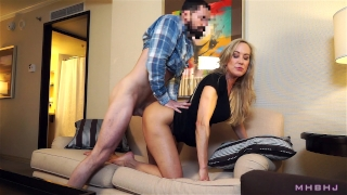 Epic MILF caught cheating; Fucks to keep scumbag quiet! (Brandi Love) Pussy cowgirl